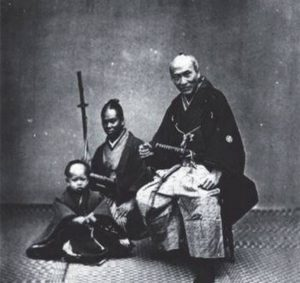 A photograph of the famed Yasuke, the 'Black Samurai'...